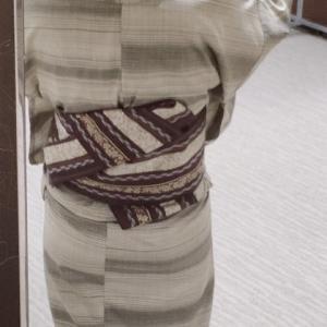 単衣と半巾