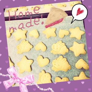 ♪娘と焼いたクッキー♪