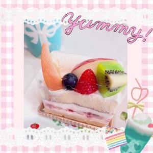♪休憩ケーキに感謝感激♪