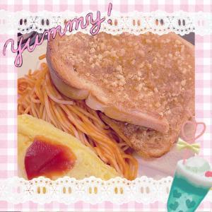 ♪アーモンドトーストのブランチ♪