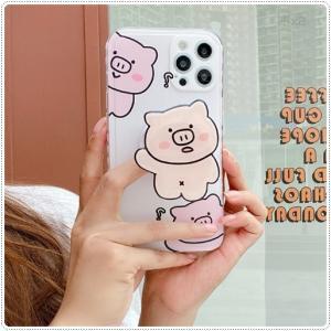 可愛い豚のiPhoneケースUPしました。