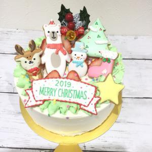 クリスマスケーキ無事にお渡し終了