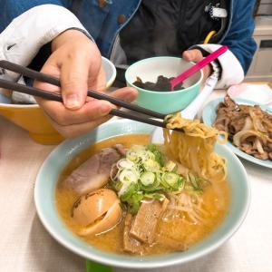 【札幌子連れ旅】ラーメン、シメパフェ、ホテル朝食、中島公園
