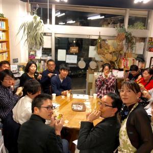 『食虫植物のわな』刊行記念読書会&ウツボカズラ料理のワークショップ満員御礼でした。
