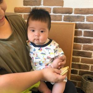 生後五ヶ月の赤ちゃんカット 龍ヶ崎市のヘアーサロンバーバーヤマナ 美容室 理容室