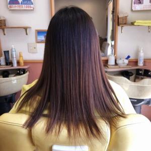 50代の奥様の白髪染め  龍ヶ崎市のヘアーサロンバーバーヤマナ 美容理