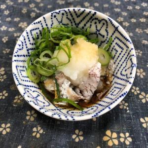 真鯛の刺身&湯引き&皮ポン酢