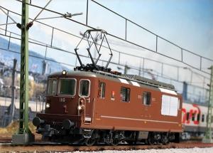 ROCOの機関車 Re4/4 185入線しました