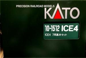 ICE4 KATO 入線しました