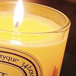 Citronnelle の香りに守られて・diptyque のキャンドルと精油に感謝