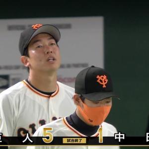 【4/14~15】超安定先発陣【中日戦】