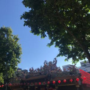 台北のローカル市場
