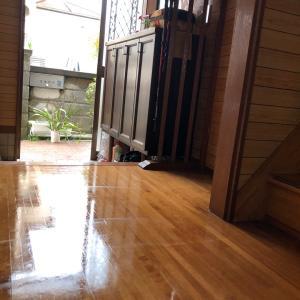 【掃除】 2日めのあさ 親の家のかたづけ