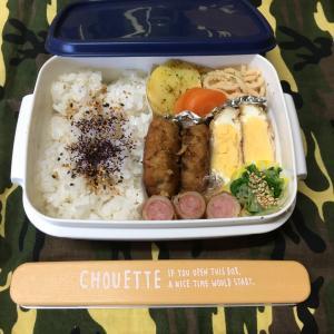 (๑╹ω╹๑ )にーさん今日のお弁当☆行儀のいいお弁当☆