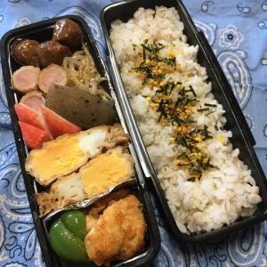 (๑╹ω╹๑ )にーさん今日のお弁当☆色々ちょこちょこなおかず☆