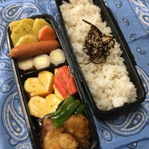 (๑╹ω╹๑ )にーさん今日のお弁当☆定番のフリッター☆