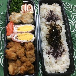 (๑╹ω╹๑ )にーさん今日のお弁当☆唐揚げ焼売のお弁当☆