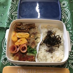 (๑╹ω╹๑ )にーさん今日のお弁当☆焼肉焼売のお弁当☆