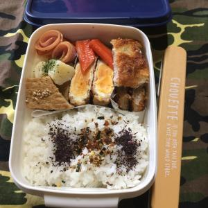 (๑╹ω╹๑ )にーさん今日のお弁当☆プチとんかつのお弁当☆28