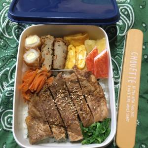 (๑╹ω╹๑ )にーさん今日のお弁当☆肉ガッツリ☆