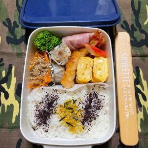 (๑╹ω╹๑ )にーさん今日のお弁当☆エビフライのお弁当☆