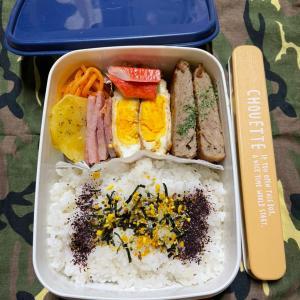 (๑╹ω╹๑ )にーさん今日のお弁当☆見た目だけはいい!時短弁当☆