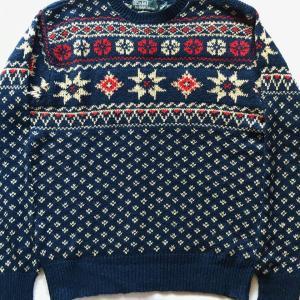 Ralph Lauren/ノルディックセーター