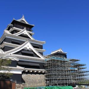 【熊本城特別公開が再開です(^^♪】