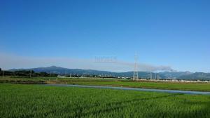 火山灰が降ってます! #スイフトスポーツ #スイスポ #ZC32S #阿蘇火山灰