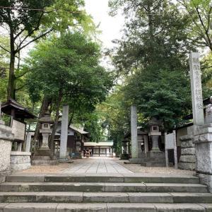浦和の調神社へ