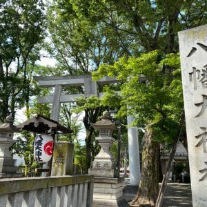三鷹の八幡大神社へ