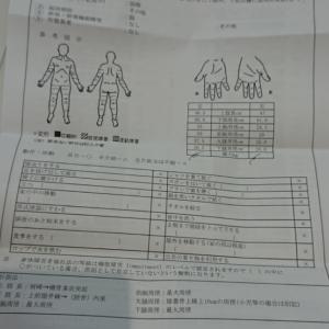 身体障害者手帳取得に向けて  病院受診と診断書