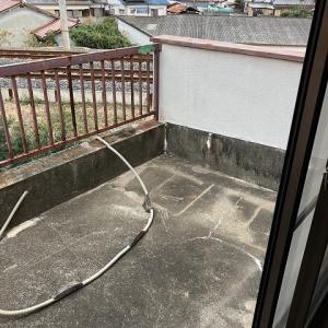 雨漏れ原因でよくあるパターン。(バルコニー)