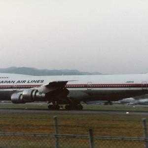 JAL123便ジャンボ機墜落事故を思って