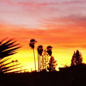 SoCal Sunset 南カリフォルニアの夕陽
