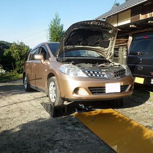 自家用車のオイル交換DIY