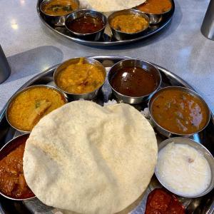 3ヵ月ぶりの外食は、南インドカレー♪