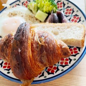 沢村のパンで朝食♪