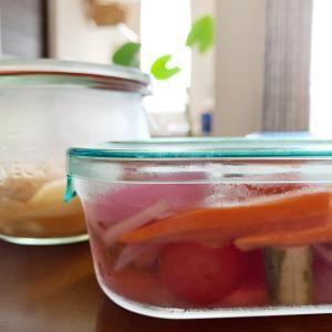 夏の常備菜、作りました♪