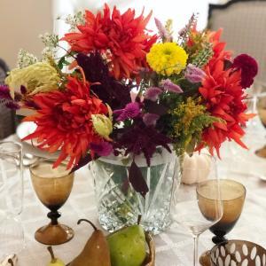 感謝の気持ちを込めて。Autumn in NY Dinner Party!