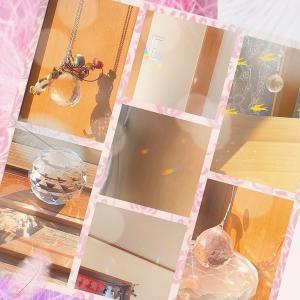 【43日目】浄化の日。我が家のサンキャッチャー。
