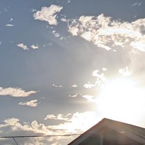 夏至の朝日
