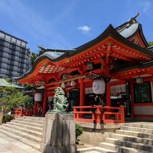 満月○一粒万倍日○の生田神社参拝