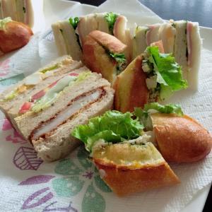 今日は妹宅でお昼ご飯