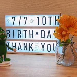 2020/07/07本日ココカラは10周年を迎えることが出来ました!感謝の一言です