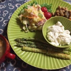 収穫野菜と大豆製品を使ったおうちごはんです! & 河内晩柑のこと