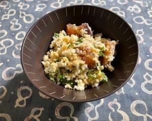 収穫野菜やいただき物の山芋を使ったおうちごはん & 嬉しい頂き物^^