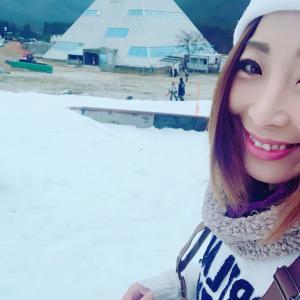ゲレンデで!Liveとスノーボード!