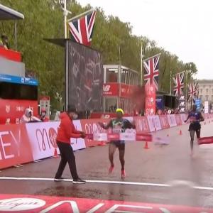 2020ロンドンマラソン 結果 (ラップタイム)
