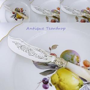★★Teardrop 白蝶貝ハンドルバターナイフです★★